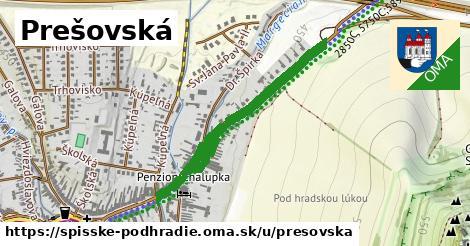 Prešovská, Spišské Podhradie