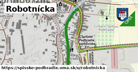 Robotnícka, Spišské Podhradie