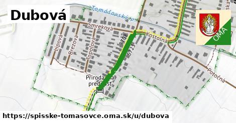 ilustrácia k Dubová, Spišské Tomášovce - 215m