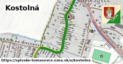 ilustrácia k Kostolná, Spišské Tomášovce - 484m