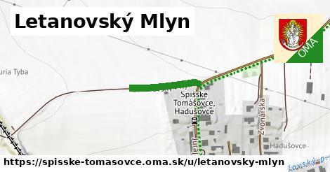 ilustrácia k Letanovský Mlyn, Spišské Tomášovce - 153m