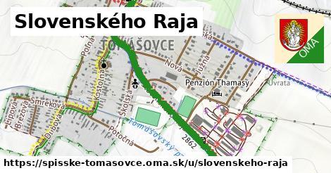ilustrácia k Slovenského raja, Spišské Tomášovce - 0,98km