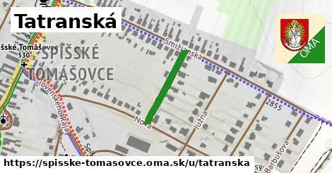 ilustrácia k Tatranská, Spišské Tomášovce - 184m