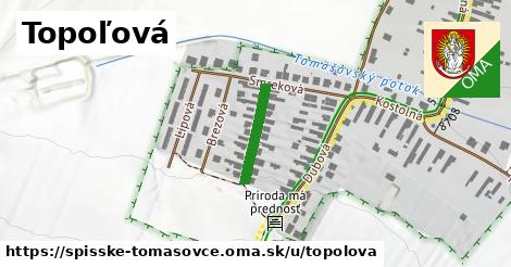 ilustrácia k Topoľová, Spišské Tomášovce - 148m