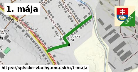 ilustrácia k 1. mája, Spišské Vlachy - 348m