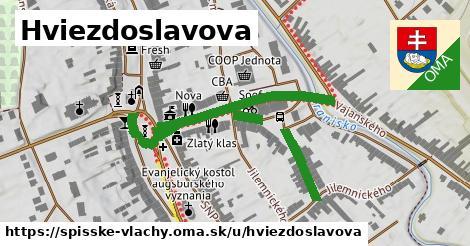 ilustrácia k Hviezdoslavova, Spišské Vlachy - 531m