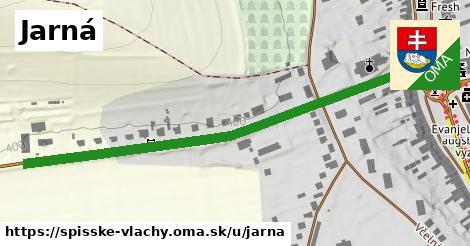 ilustrácia k Jarná, Spišské Vlachy - 641m