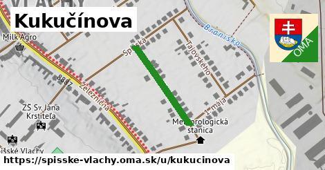 ilustrácia k Kukučínova, Spišské Vlachy - 218m