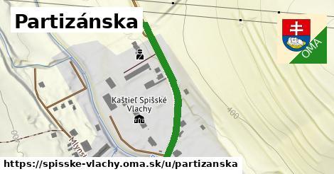 ilustrácia k Partizánska, Spišské Vlachy - 2,1km