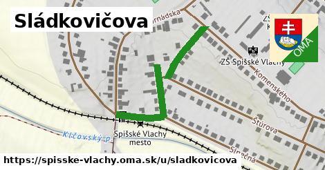 ilustrácia k Sládkovičova, Spišské Vlachy - 375m