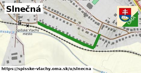 ilustrácia k Slnečná, Spišské Vlachy - 399m