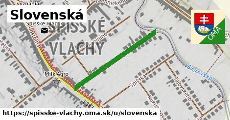 ilustrácia k Slovenská, Spišské Vlachy - 317m