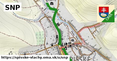 ilustračný obrázok k SNP, Spišské Vlachy