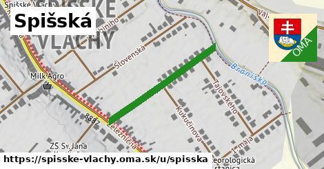 ilustrácia k Spišská, Spišské Vlachy - 296m