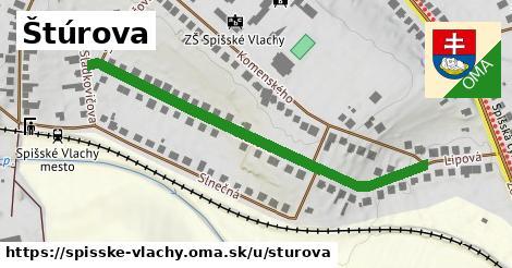 ilustrácia k Štúrova, Spišské Vlachy - 536m