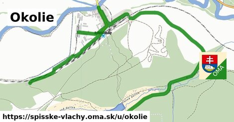 ilustrácia k Okolie, Spišské Vlachy - 5,0km