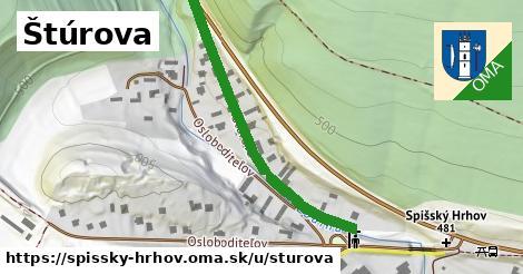 ilustrácia k Štúrova, Spišský Hrhov - 415m