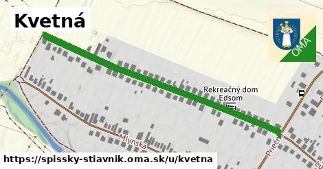 ilustrácia k Kvetná, Spišský Štiavnik - 588m