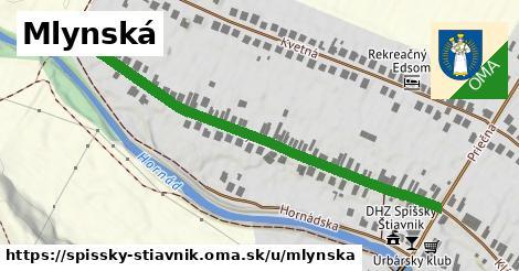 ilustrácia k Mlynská, Spišský Štiavnik - 571m