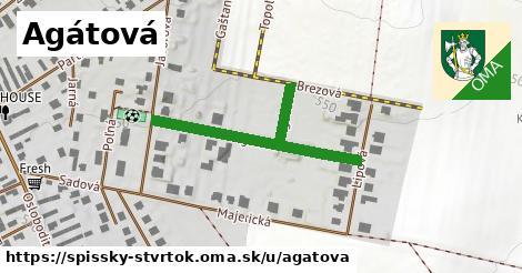 ilustrácia k Agátová, Spišský Štvrtok - 303m