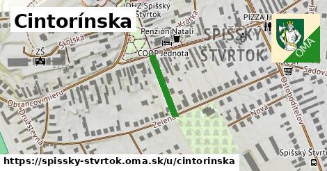ilustrácia k Cintorínska, Spišský Štvrtok - 147m