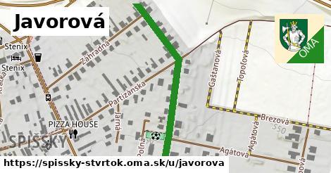 ilustrácia k Javorová, Spišský Štvrtok - 402m