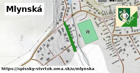 ilustrácia k Mlynská, Spišský Štvrtok - 175m
