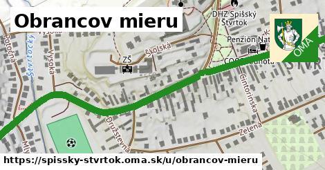 ilustrácia k Obrancov mieru, Spišský Štvrtok - 1,07km