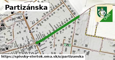 ilustrácia k Partizánska, Spišský Štvrtok - 327m