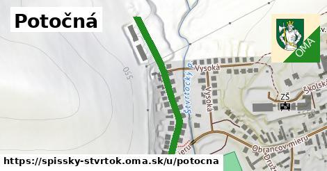 ilustrácia k Potočná, Spišský Štvrtok - 238m
