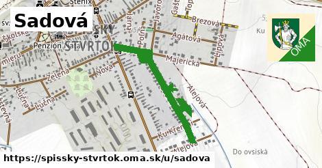 ilustrácia k Sadová, Spišský Štvrtok - 387m