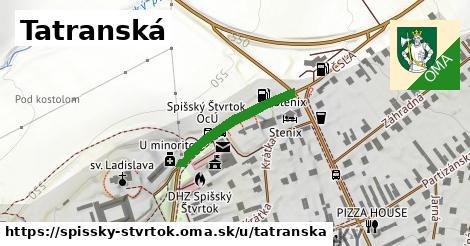 ilustrácia k Tatranská, Spišský Štvrtok - 215m