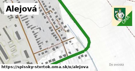 ilustrácia k Alejová, Spišský Štvrtok - 265m