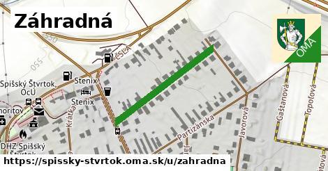 ilustrácia k Záhradná, Spišský Štvrtok - 275m
