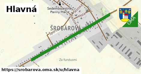 ilustrácia k Hlavná, Šrobárová - 1,25km
