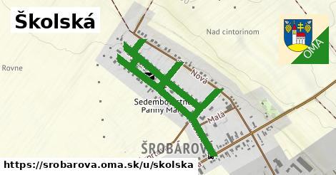 ilustrácia k Školská, Šrobárová - 1,55km