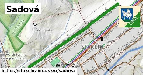 ilustrácia k Sadová, Stakčín - 1,21km