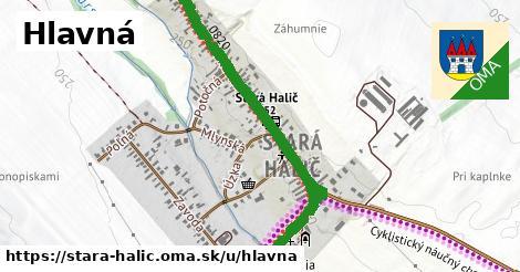 ilustrácia k Hlavná, Stará Halič - 1,21km