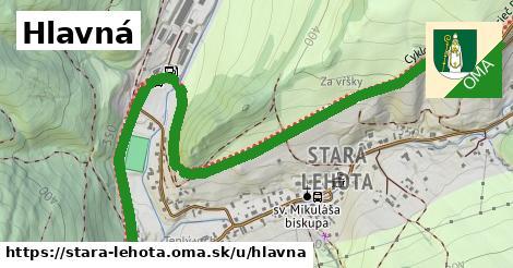 ilustrácia k Hlavná, Stará Lehota - 2,2km
