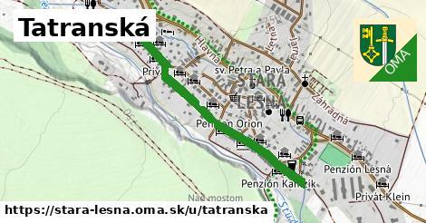 ilustračný obrázok k Tatranská, Stará Lesná