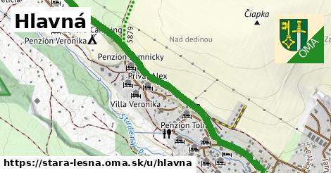 ilustrácia k Hlavná, Stará Lesná - 2,8km