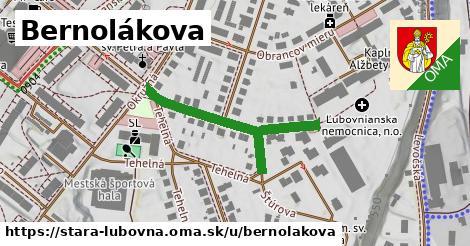 ilustrácia k Bernolákova, Stará Ľubovňa - 355m