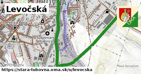 ilustrácia k Levočská, Stará Ľubovňa - 1,50km