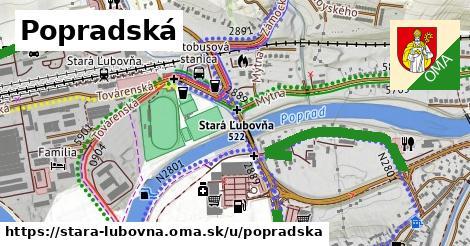 ilustrácia k Popradská, Stará Ľubovňa - 1,36km