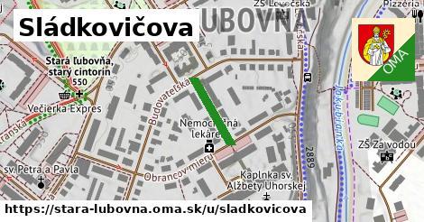 ilustrácia k Sládkovičova, Stará Ľubovňa - 132m