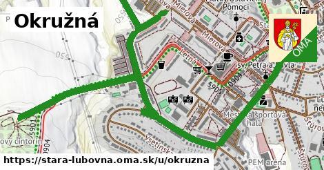 ilustrácia k Okružná, Stará Ľubovňa - 2,3km