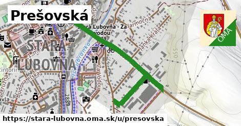 Prešovská, Stará Ľubovňa