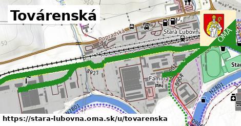 ilustrácia k Továrenská, Stará Ľubovňa - 1,69km