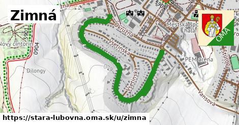 ilustrácia k Zimná, Stará Ľubovňa - 1,39km