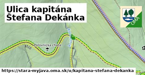 ilustrácia k Ulica kapitána Štefana Dekánka, Stará Myjava - 611m